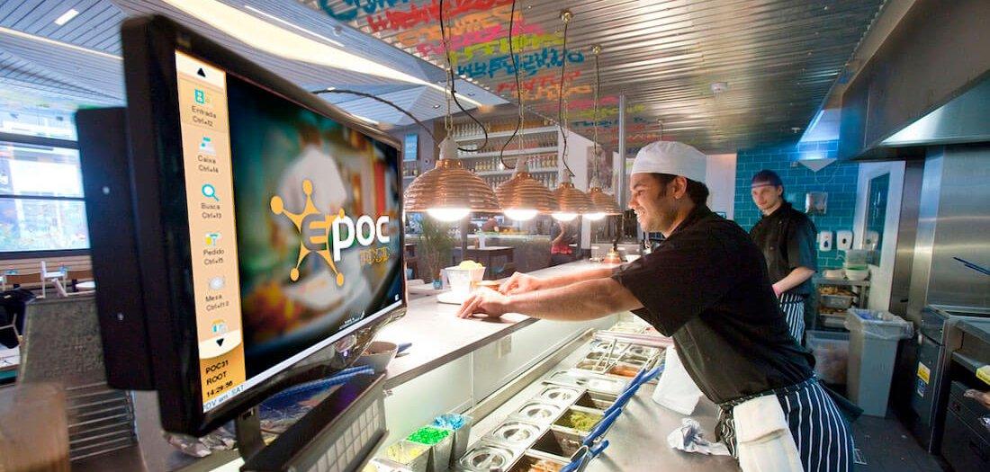 tela de producao para restaurantes para otimizar cozinha