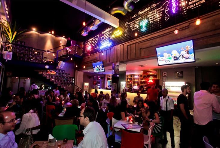 Brexo bar e restaurante para dia dos solteiros com sistema de automacao epoc