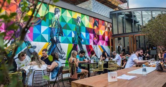 High Line bar e restaurante para dia dos solteiros com sistema de automacao epoc